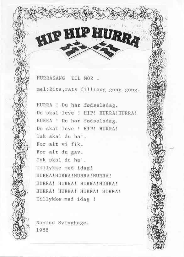 40 års bryllupsdag digt